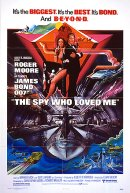 The Spy Who Loved Me - US 1 sheet Poster