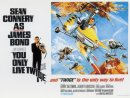 You Only Live Twice UK Quad Poster Style B