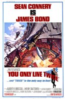 You Only Live Twice US 1 Sheet Poster